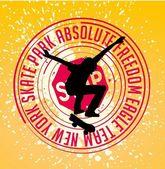 Rue de sport skate art vectoriel — Vecteur