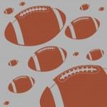 American football ball vector art — Stock Vector