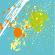 Bright splashes background vector art — Image vectorielle