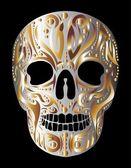 Tattoo tribal Skull-Vektorgrafiken — Stockvektor