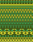 Geometric ethnic design vector art — Stockvektor