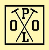 Colegio polo player vector arte — Vector de stock