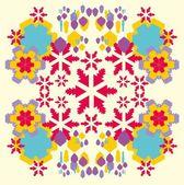 Geometric ethnic design vector art — Stock Vector