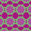 Geometric ethnic design vector art — Image vectorielle