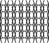 Geometrik etnik tasarım vektör sanat — Stok Vektör