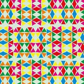 Geometric ethnic design vector art — Stok Vektör