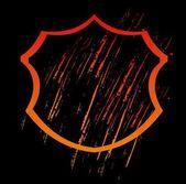 Grunge splash badge vector art — Stock Vector