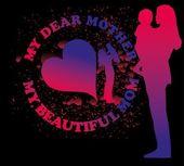 счастливые матери день вектор искусства — Cтоковый вектор