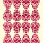 Tattoo tribal skull vector art — Stock Vector