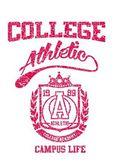 アメリカの大学スポーツ ベクトル アート — ストックベクタ