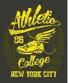 American college sports vector art — Vettoriale Stock