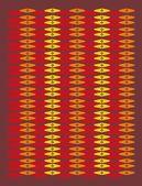 этнические текстильный дизайн вектор искусства — Cтоковый вектор