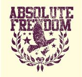Absolute freedom birds vector art — Stock vektor