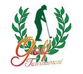 Summer sports golf player vector art — Stock Vector
