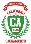 California city vector art — Vector de stock