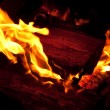 Flames of a forge — Stock Photo #13749680