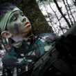 Stock Photo: Boy Soldier