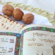 Stock Video: Passover Seder table