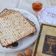 Passover Seder table — Stock Video