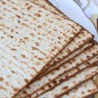 Passover Seder table - Stock Photo