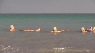 Dead sea — Stock Video