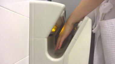 Hand dryer — Stock Video