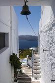 View of Plaka village on Milos island — Stock Photo