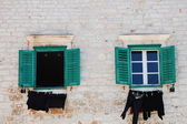 Croatian Windows — Stock Photo