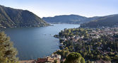 Cernobbio, lake of Como — Stock Photo
