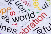 Word world — Stock Photo
