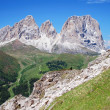 Sassolungo, Dolomites, Italy - Stock Photo