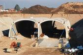 トンネル工事 — ストック写真