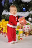 Little Santa Claus — Stock Photo