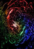 Colorful splash — Стоковое фото