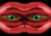 Cara alienígena — Foto de Stock
