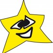 Smily star — Stock Photo