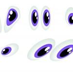 Cartoon eyes — Stock Photo #17619041