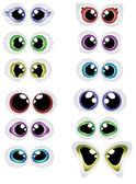 Cartoon-Augen — Stockvektor