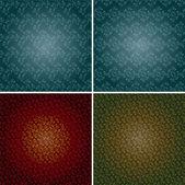 Seamless retro pattern vector — Stock Vector