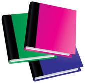 Vector book set — Stock Vector