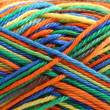 Skein of multicolored threads. Close up — Stock Photo