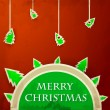 Royalty-Free Stock Vector Image: Christmas badge 4
