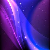 Shiny magic abstract background. — Stock Vector