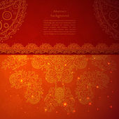 Vintage Indian Ornament — Stock Vector