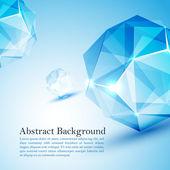 Cristal prism. — Stock Vector
