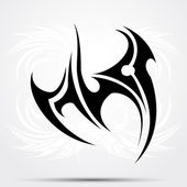 Maori styled tattoo pattern fits for a shoulder or an ankle. — Wektor stockowy