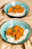 Indian dish - Chicken tikka masala — Stock Photo