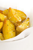 Roast potato with spices — ストック写真