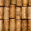 Stock Photo: Wine cork background