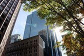 Large High Rise Commercial properties — Foto de Stock